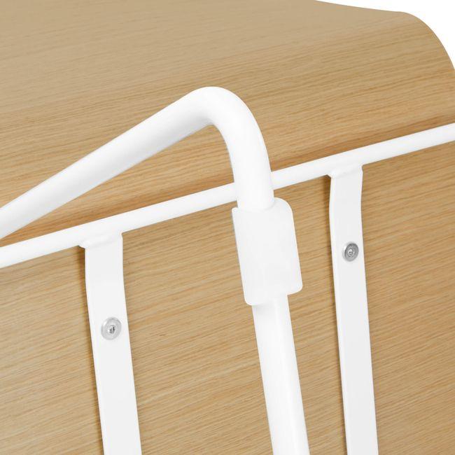 Besucherstuhl MOON Sitzfläche aus Holz Kufengestell – Bild 18