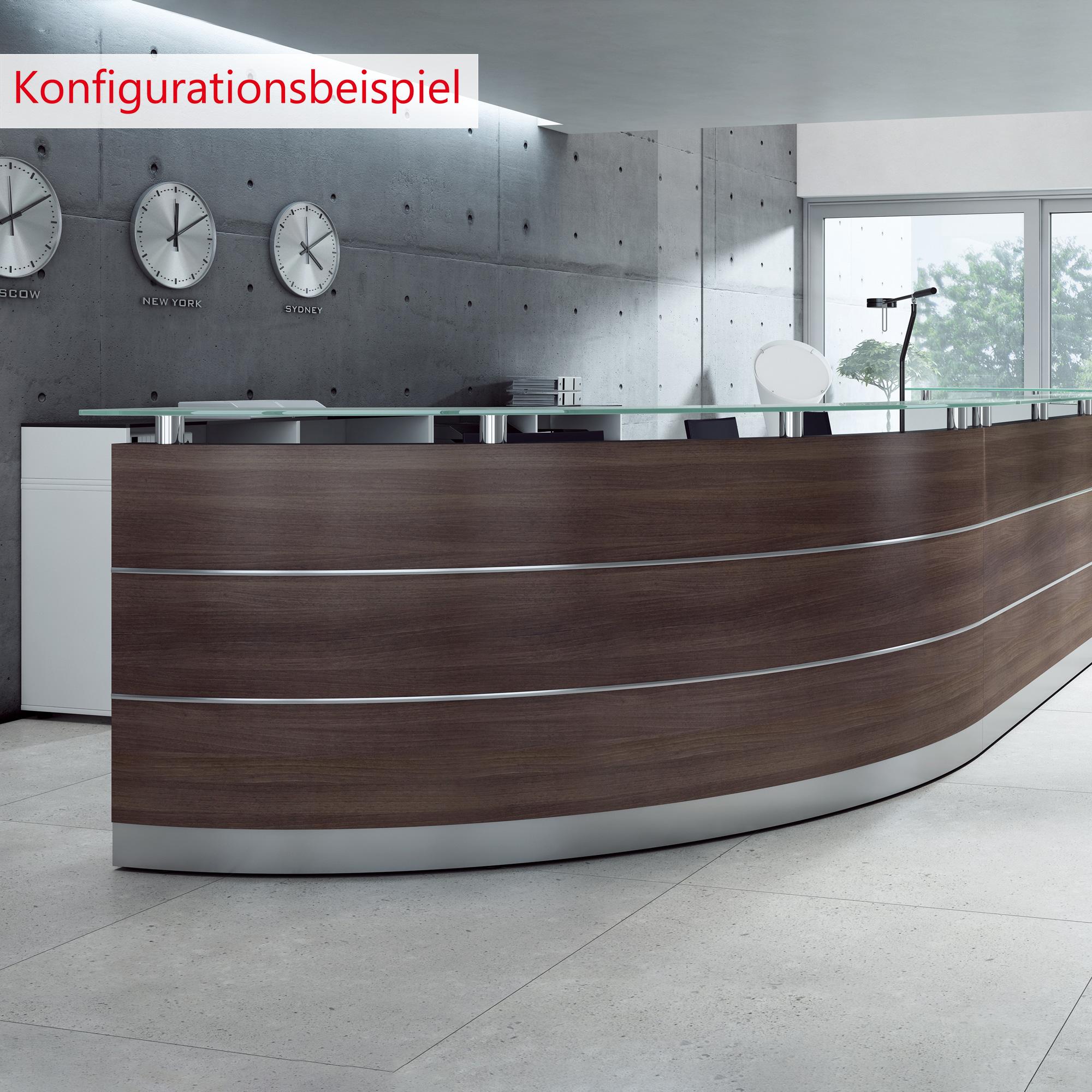 Empfangstheke Theke Rezeption Arzttheke Lieferung & Montage kostenlos MALAGA