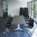 Falttisch TIMMY 3.200 x 1.200 mm Anthrazit rollbar klappbar Konferenztisch