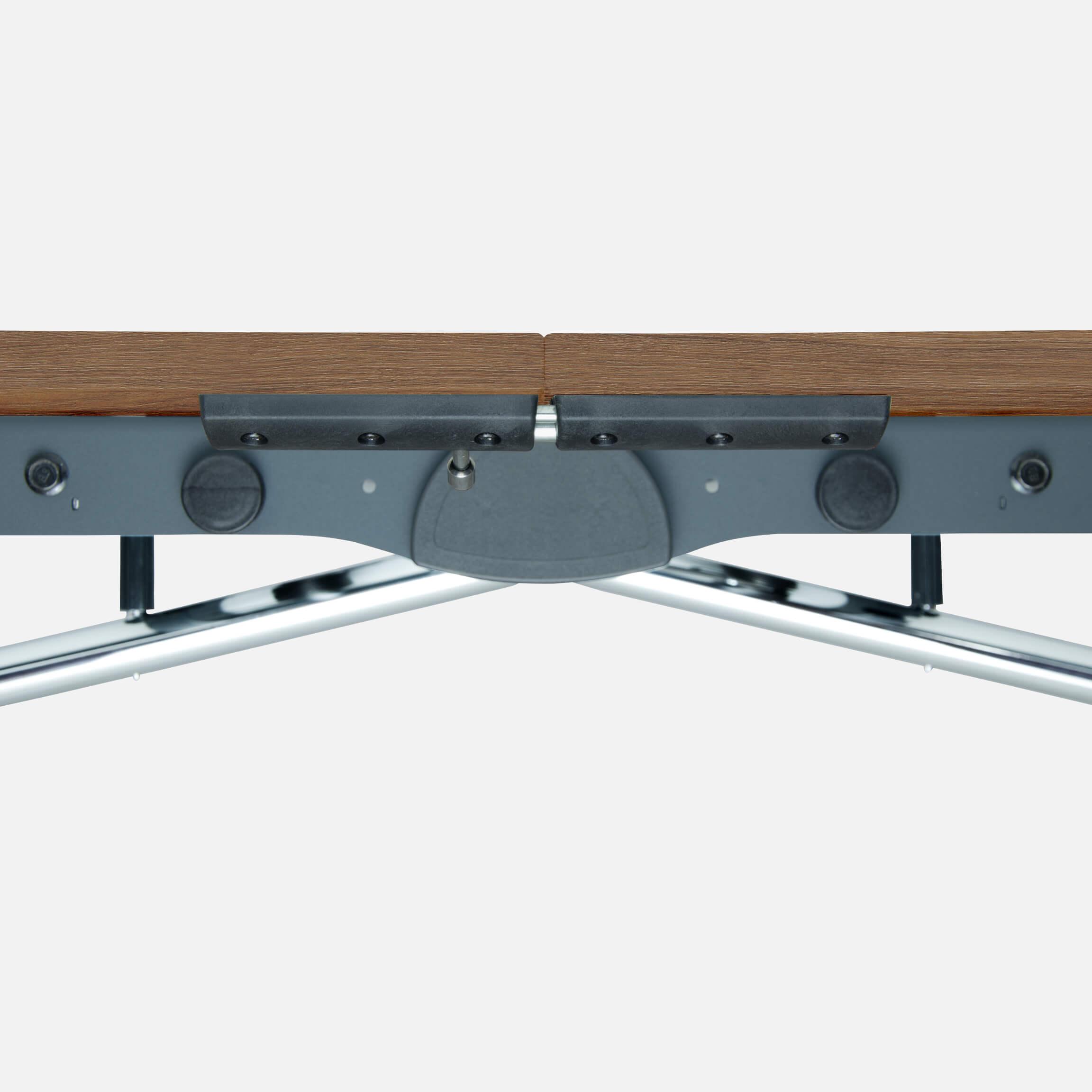 Falttisch Klapptisch 2.800 x 1.000 mm LIBRO Eiche Konferenztisch klappbar rollbar auf Rollen mobil