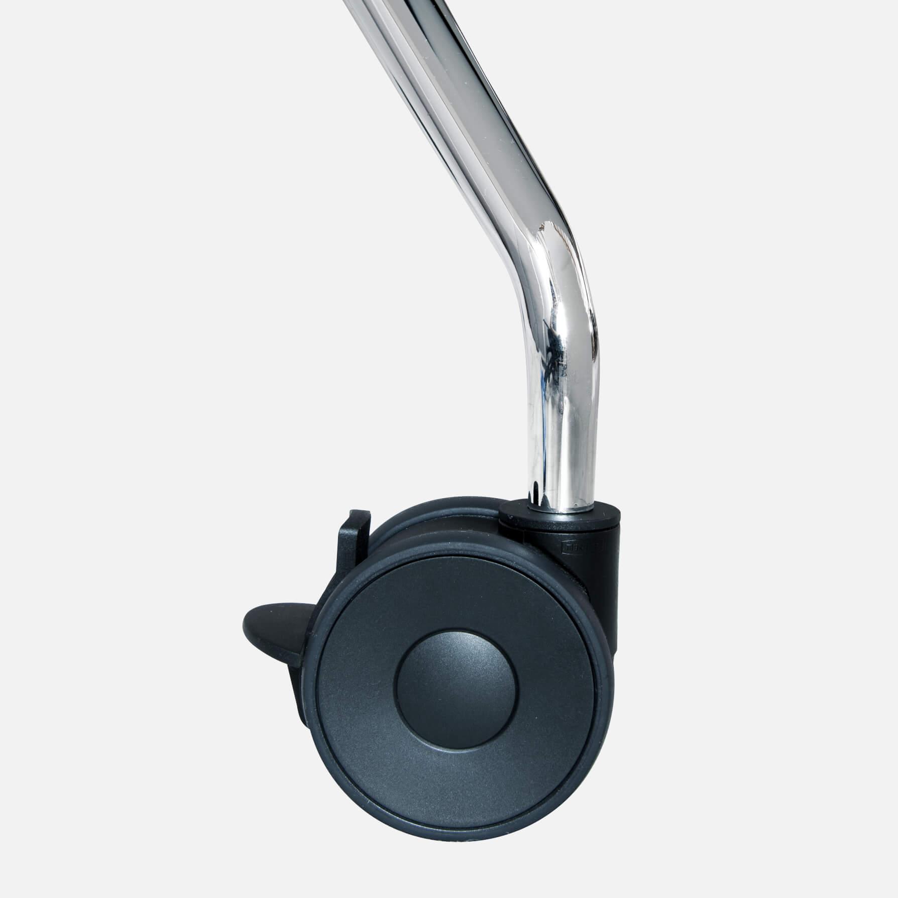 Falttisch Klapptisch 2.800 x 1.000 mm LIBRO Anthrazit Konferenztisch klappbar rollbar auf Rollen mobil