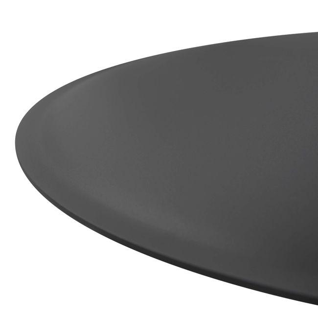 OPTIMA Konferenztisch | Bootsform, 1800 x 1000 mm (6 - 8 Personen), Ahorn