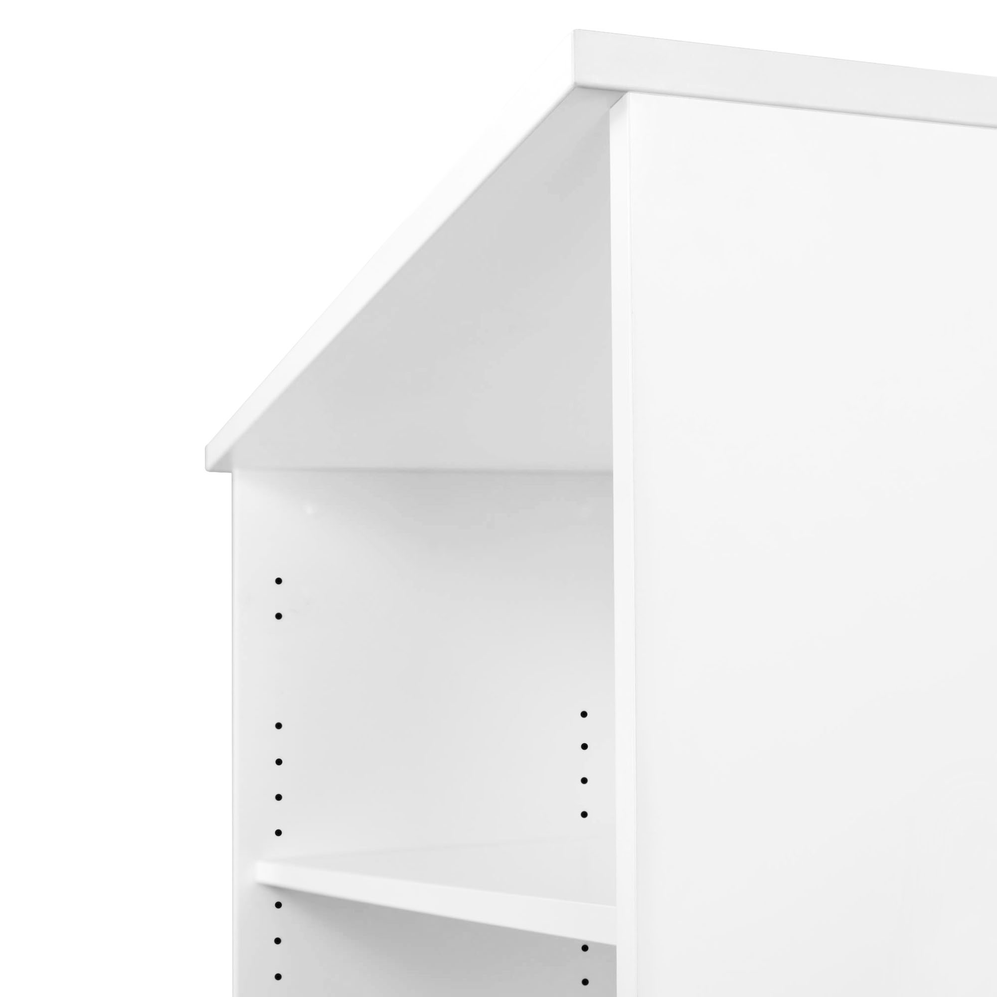PROFI Bücherregal 3OH Regal Standregal Holzregal Wandregal Schrank Büro Weiß