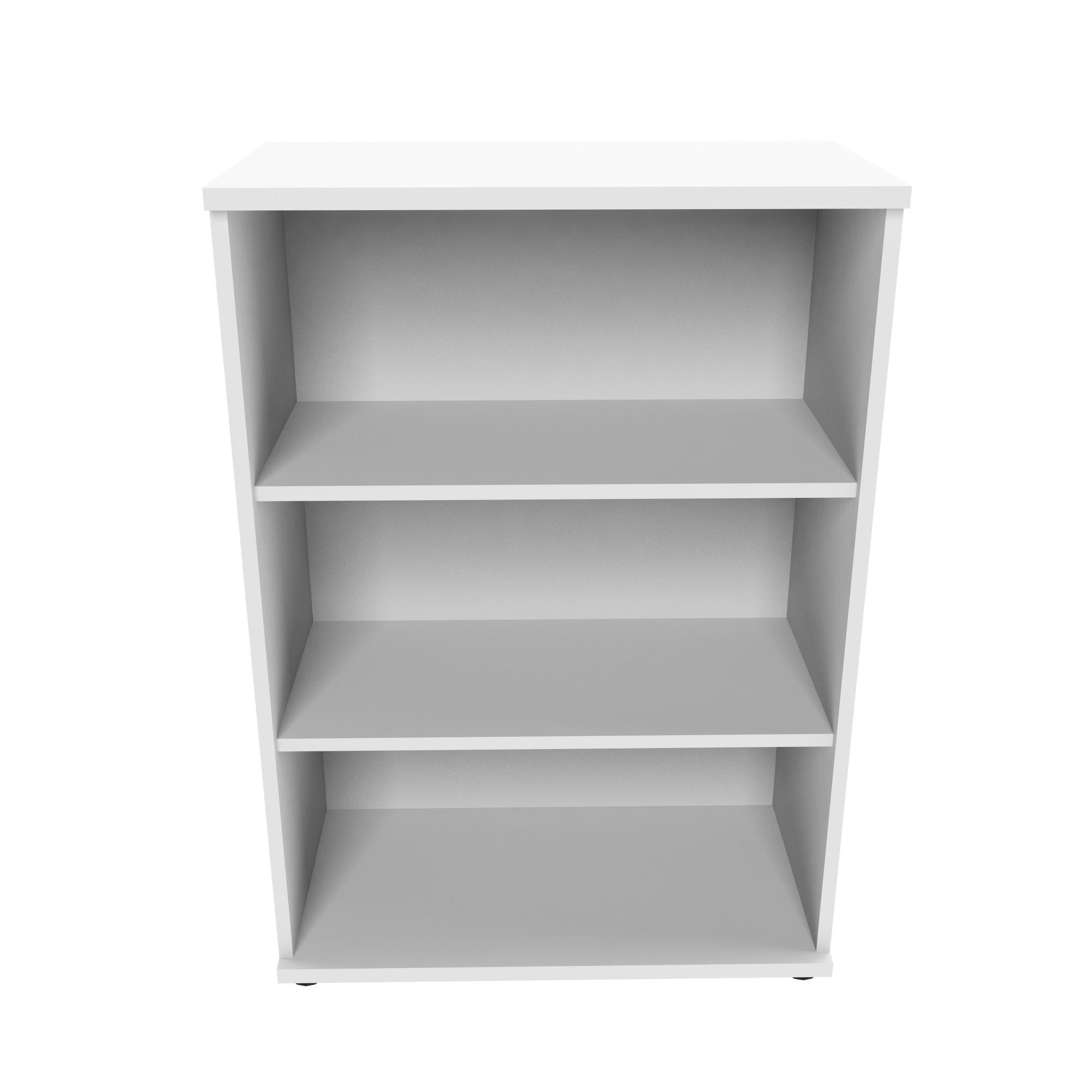PROFI Bücherragel 3OH Regal Standregal Holzregal Wandregal Schrank Büro Weiß
