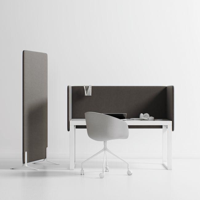 MuteDesign - DUO Akustik-Trennwand | Bezugsstoffe EVO / SYNERGY