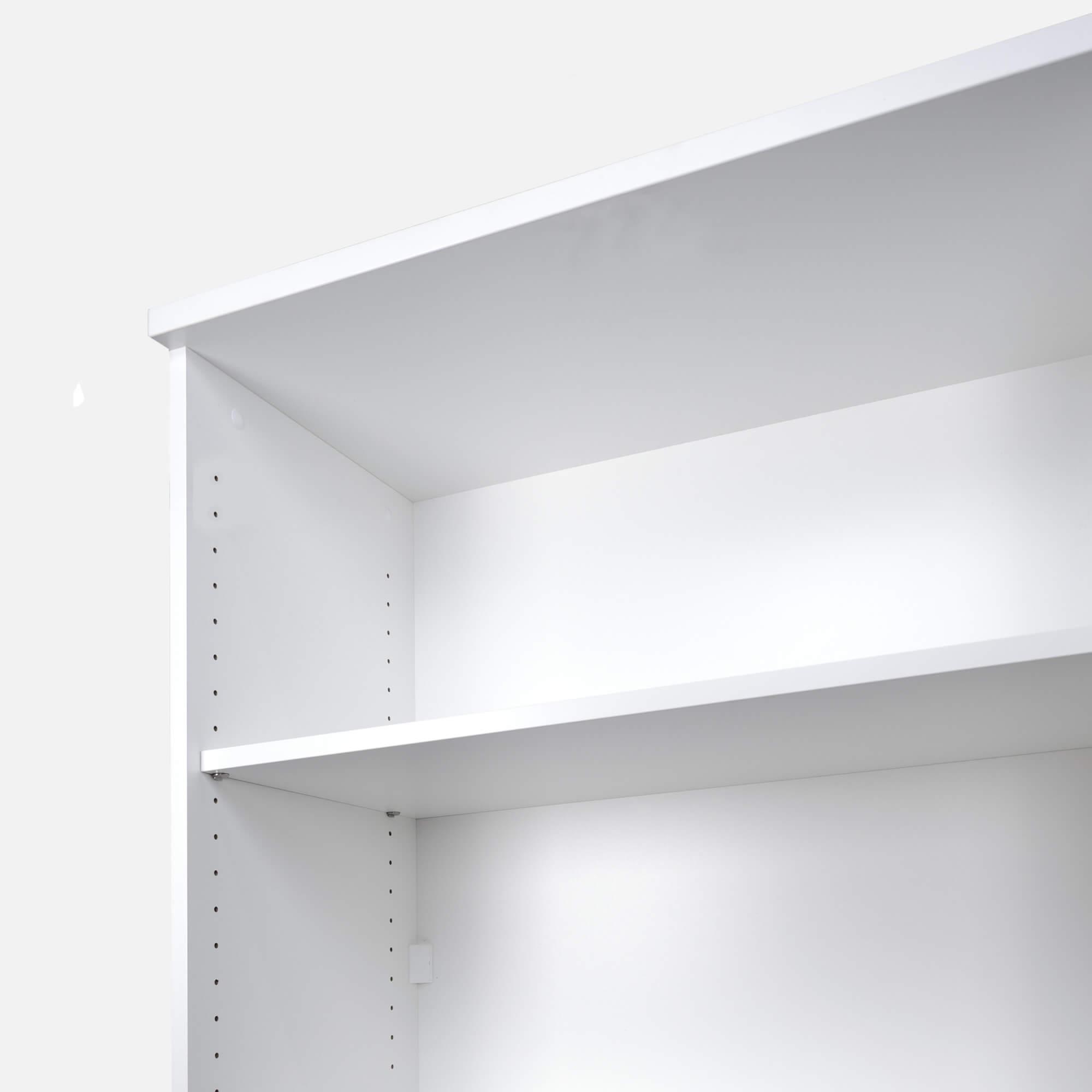 PROFI Bücherregal 5OH Regal Standregal Holzregal Wandregal Schrank Büro Weiß