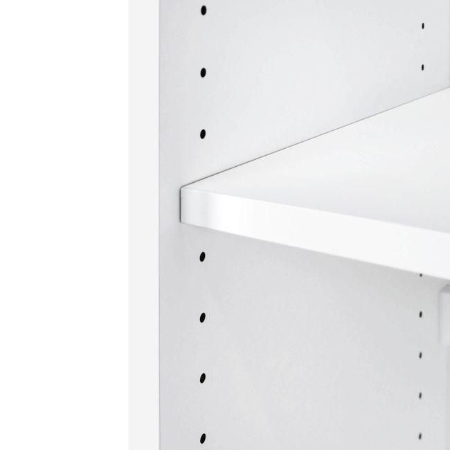 Schiebetürenschrank UNI 2 OH, (BxH) 1.200 x 777 mm, Weiß – Bild 4