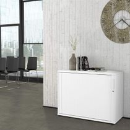 Querrollladenschrank UNI 2 OH, (BxH) 1.000 x 777 mm, Weiß