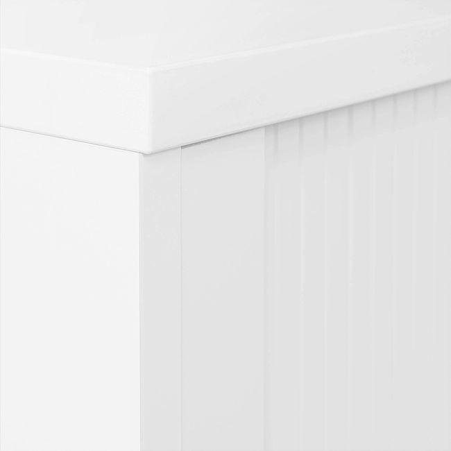Querrollladenschrank UNI 3 OH, (BxH) 1.000 x 1.143 mm, Weiß  – Bild 7