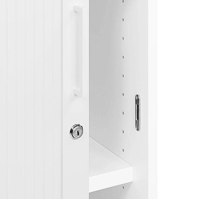 Querrollladenschrank UNI 3 OH, (BxH) 1.000 x 1.143 mm, Weiß  – Bild 8