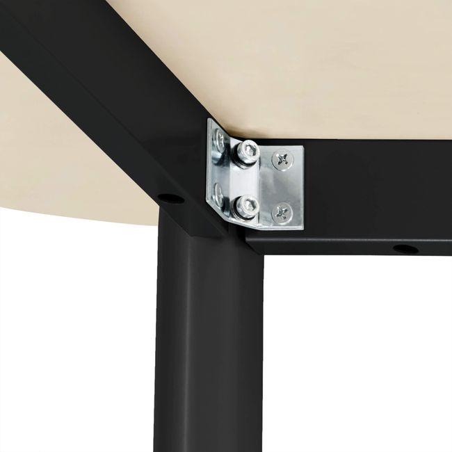 OPTIMA Konferenztisch   Oval, 2400 x 1000 mm, Ahorn