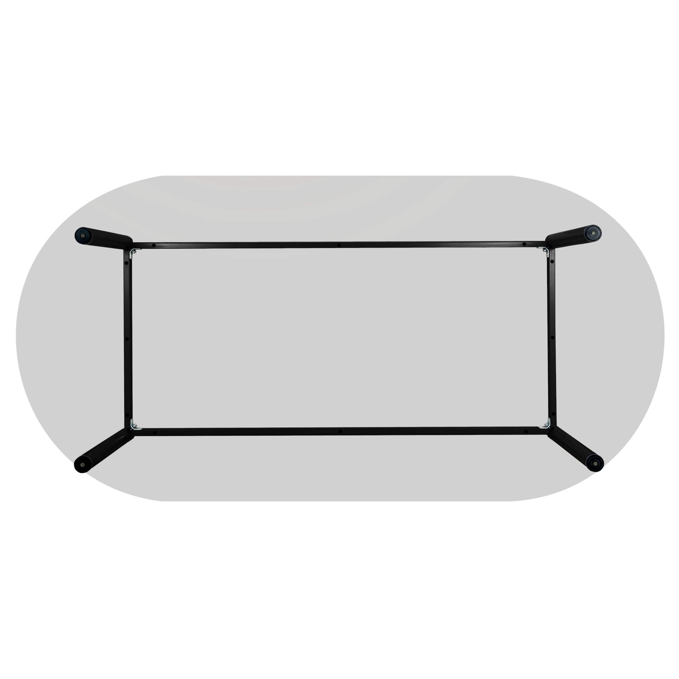 PROFI Besprechungstisch oval 240 x 100 cm OPTIMA 4-6 Pers. Konferenztisch Meetingtisch