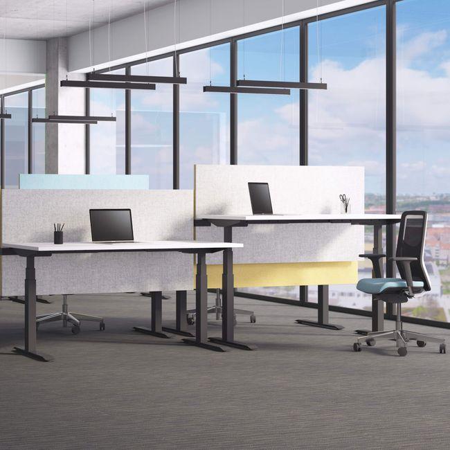 ACTIVE Schreibtisch   Elektrisch höhenverstellbar, 1600 x 800 mm, Weiß