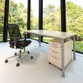 Schreibtisch OPTIMA G 1.600 x 800 mm Ahorn