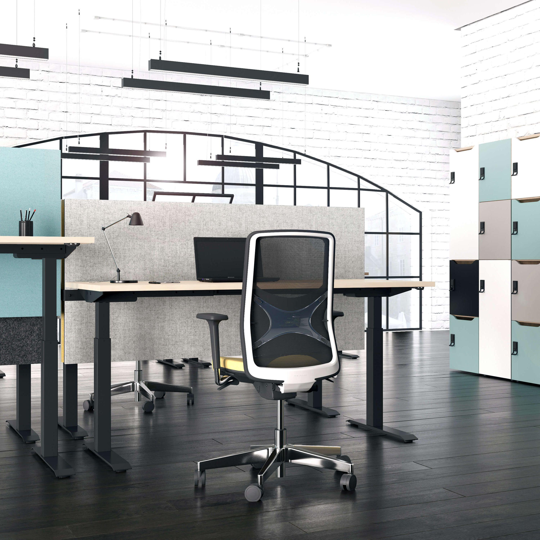 PROFI elektrisch höhenverstellbar Schreibtisch ACTIVE 160x80cm Motortisch