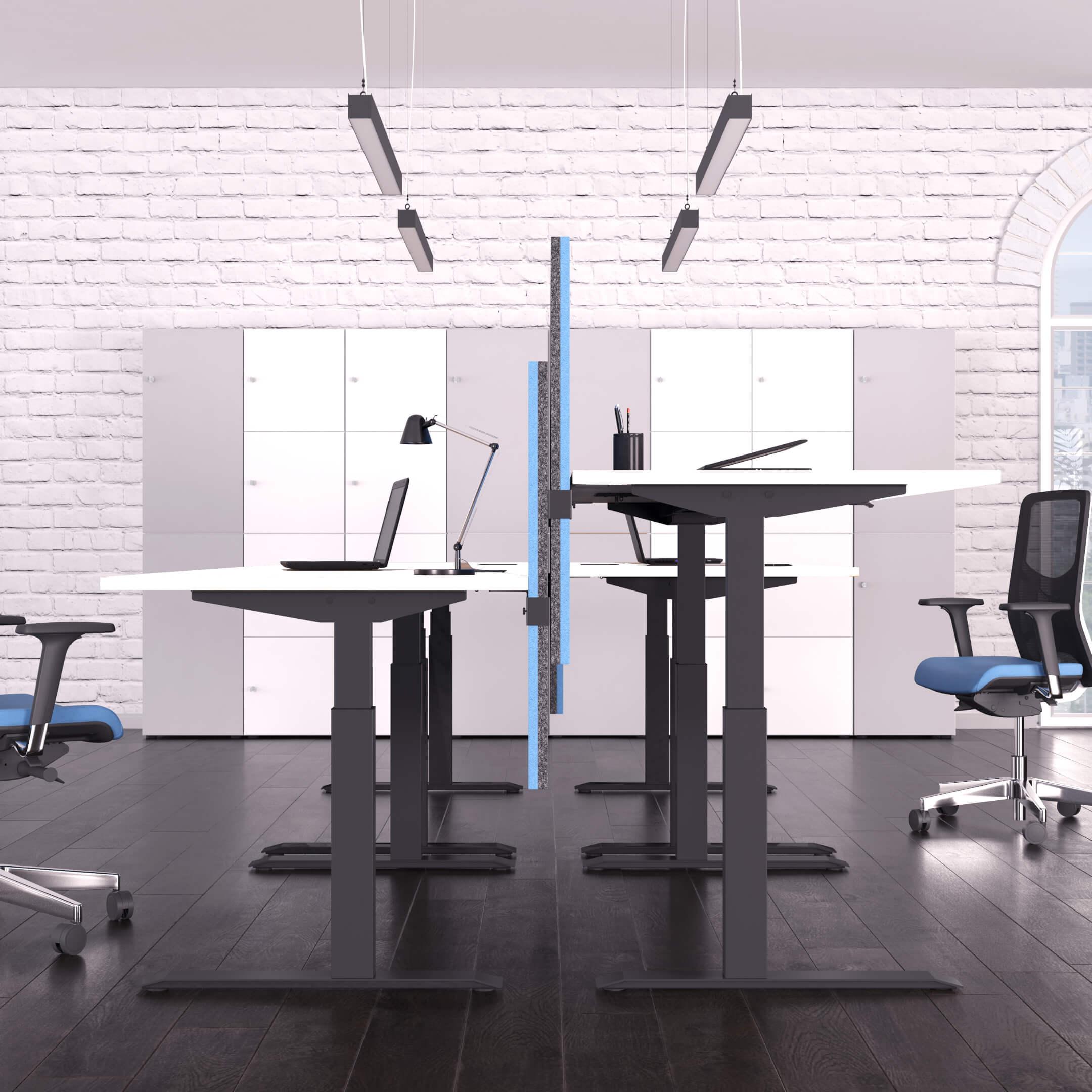 PROFI elektrisch höhenverstellbar Schreibtisch ACTIVE 180x80cm Motortisch