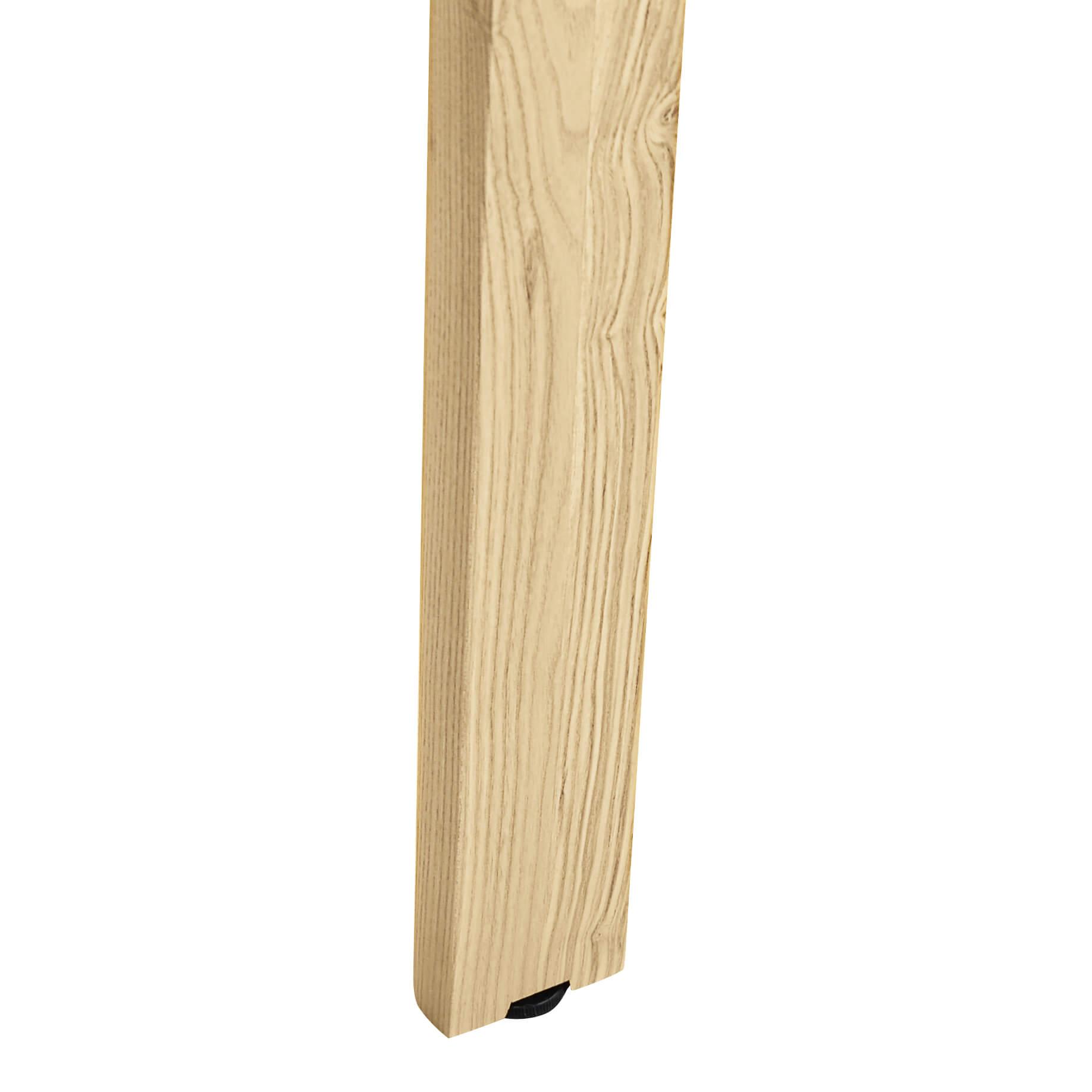 Konferenztisch NOVA Wood 280 x 120 cm Weiß/Holz Meeting Bürotisch