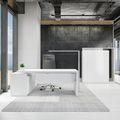 Chefbüro Set AVION Weiß inklusive Montageservice