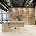 VARIAN Chefbüro Set - Inklusive Montageservice   Eiche Sonoma
