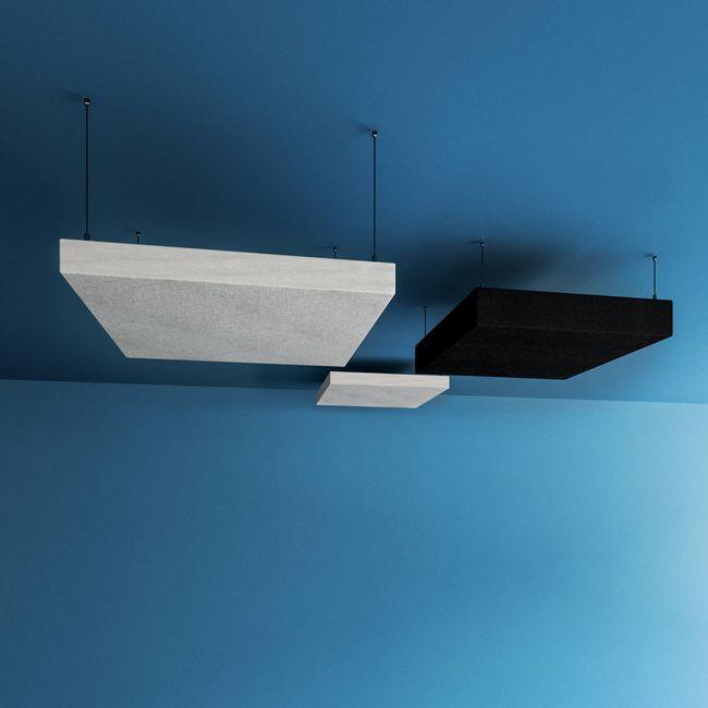 MODUS Akustik-Deckensegel | 400 x 400 mm, Wollbezug SYNERGY