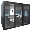 SILENT ROOM L - Akustik-System | Raum-in-Raum, Schallschutz, Für 4 Personen, Bezugsstoffe BERTA / VELITO / SYNERGY