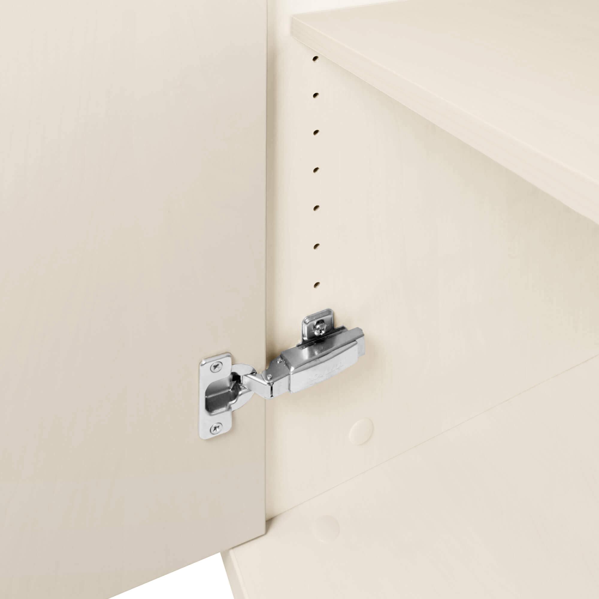 UNI Aktenschrank abschließbar 2OH Ahorn Schrank Büroschrank Flügeltürenschrank