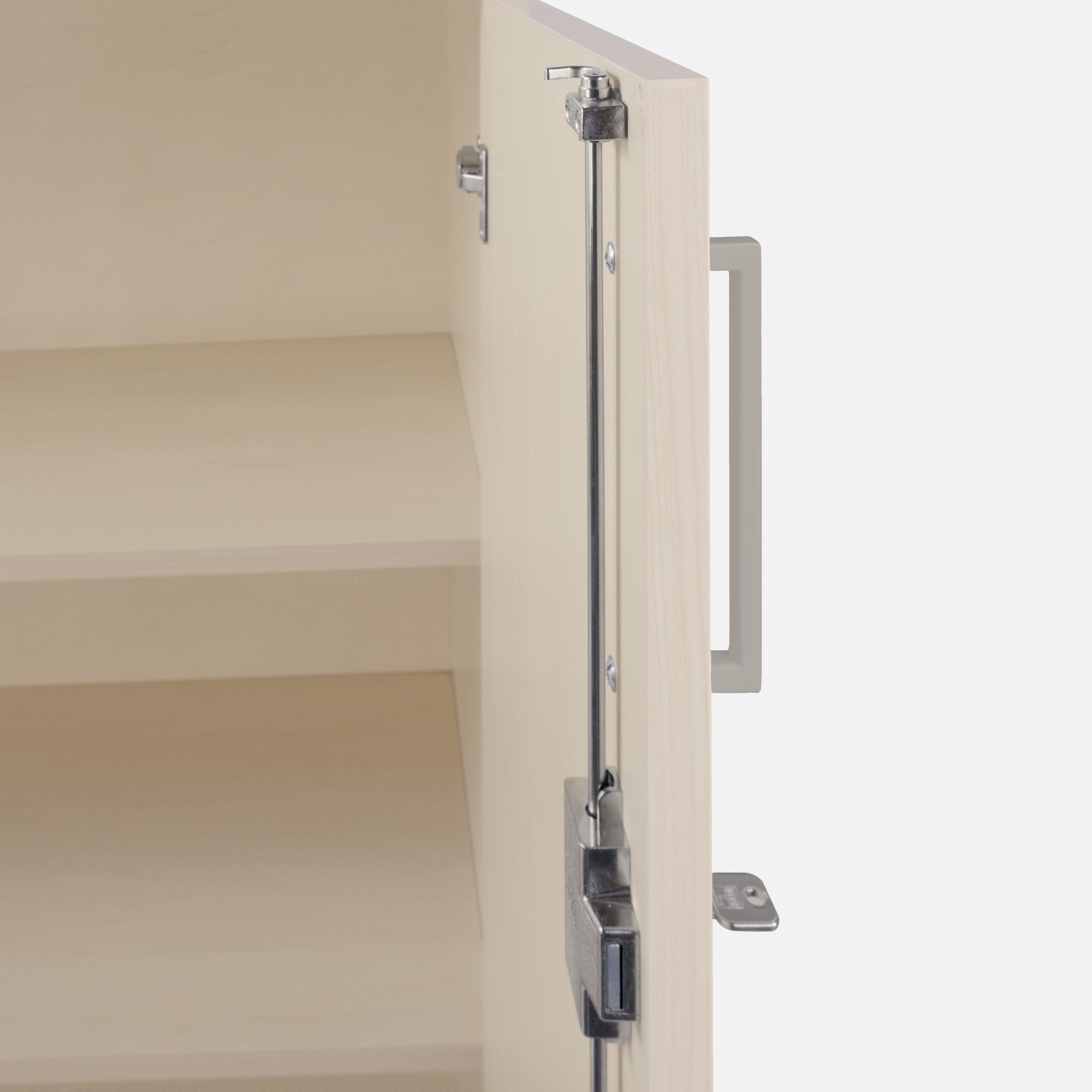 profi aktenschrank abschlie bar 3oh ahorn schrank. Black Bedroom Furniture Sets. Home Design Ideas
