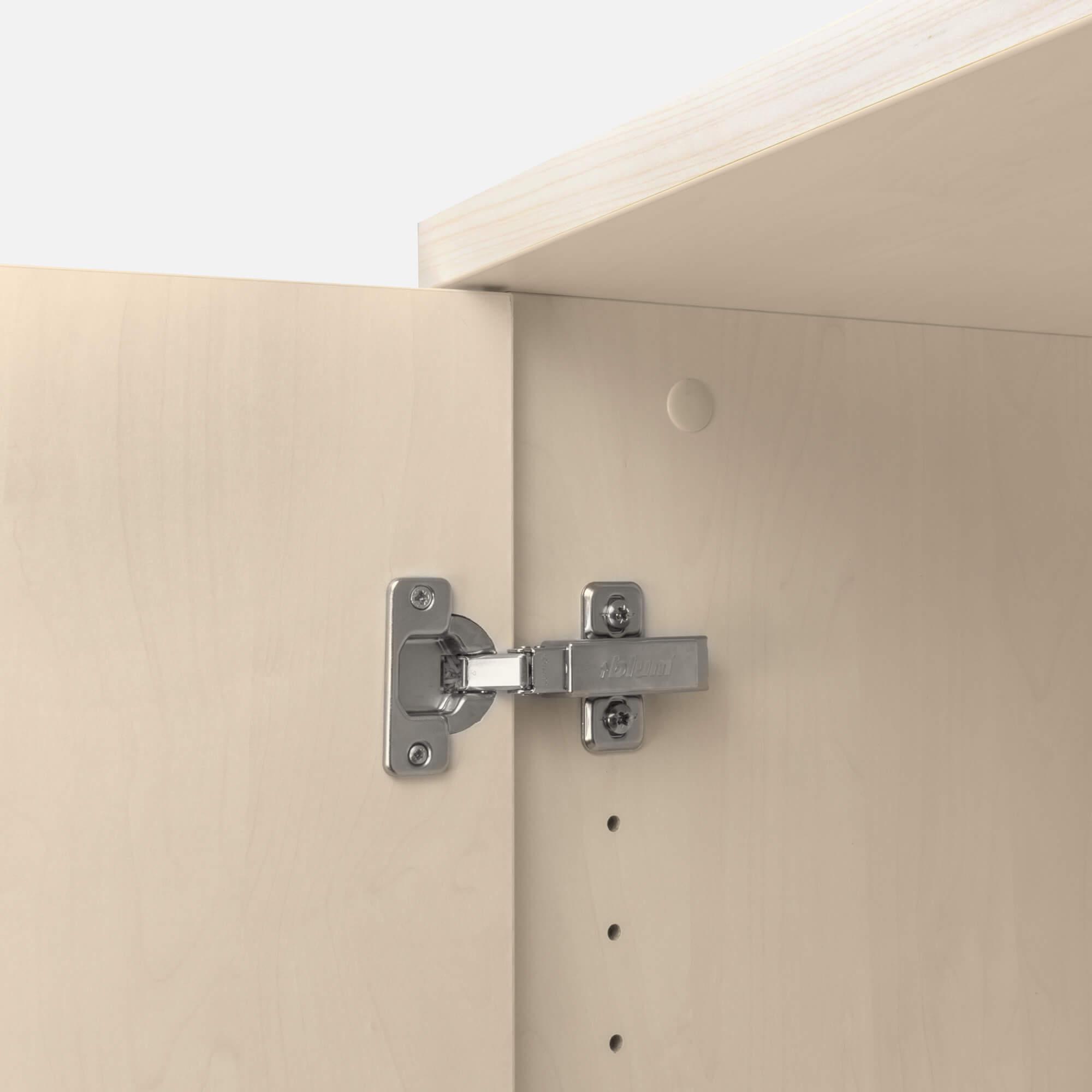 UNI Aktenschrank abschließbar 5 OH Ahorn Schrank Büroschrank Flügeltürenschrank