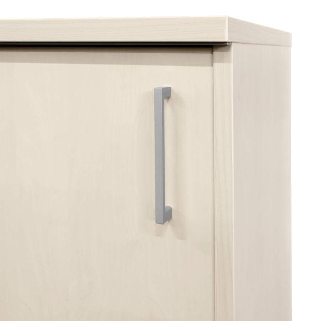 Schiebetürenschrank UNI 3 OH, (BxH) 1.200 x 1.143 mm, Ahorn – Bild 3