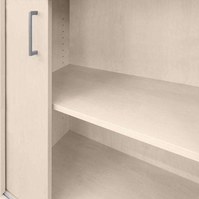 Schiebetürenschrank UNI 3 OH, (BxH) 1.200 x 1.143 mm, Ahorn – Bild 6