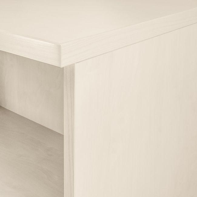 UNI Schiebetürenschrank | 5 OH, 1200 x 1897 mm, Ahorn