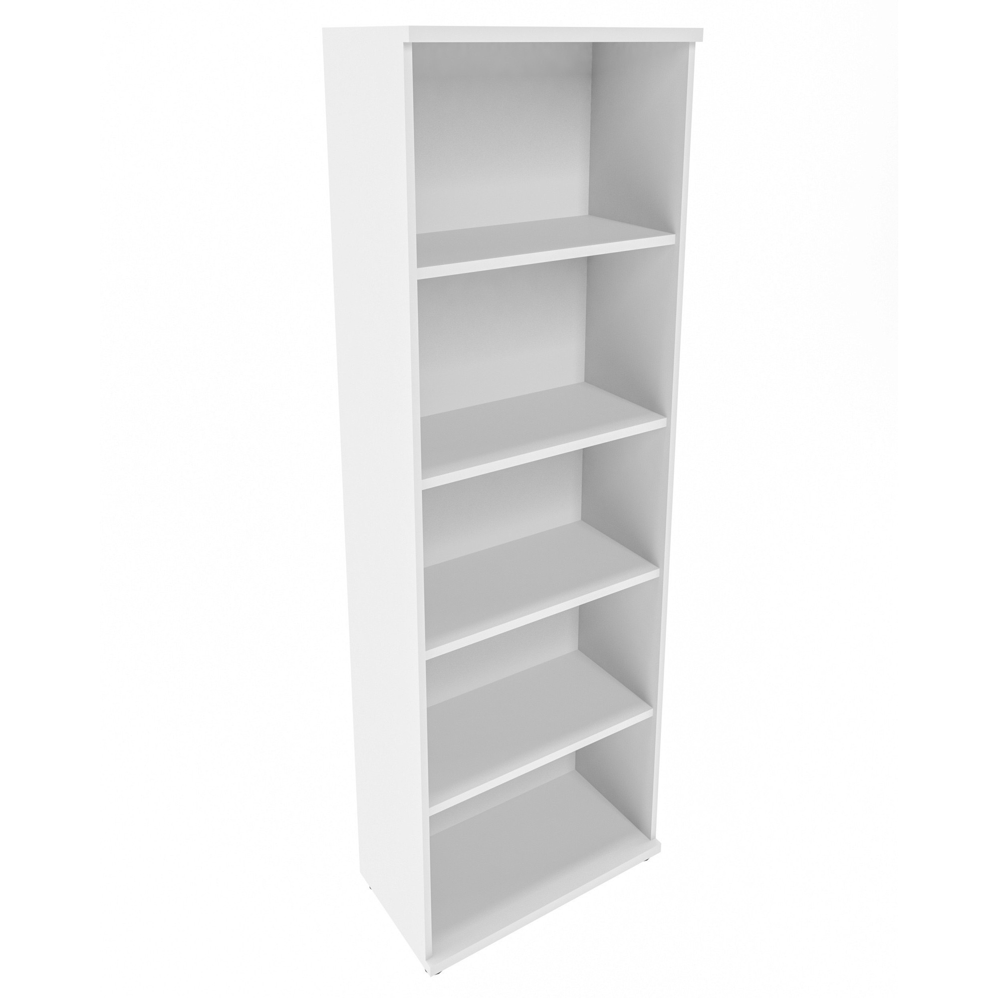 PROFI Bücherragel 5OH Regal Standregal Holzregal Wandregal Schrank Büro Weiß