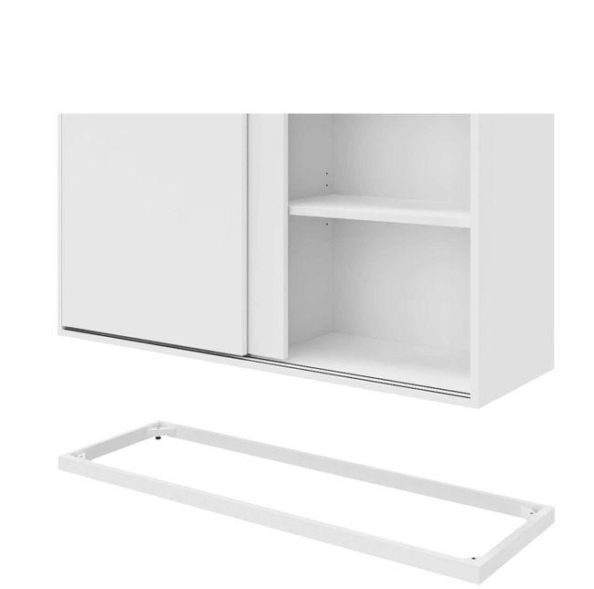 CHOICE Schiebetürenschrank | 3 OH, 1200 x 1115 mm, Weiß