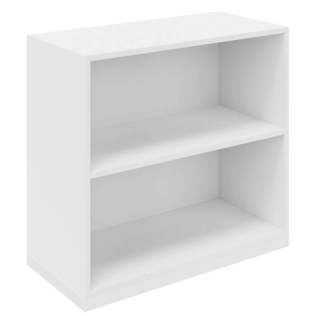 CHOICE Bücherregal   2 OH, 800 x 760 mm, Weiß