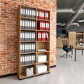 CHOICE Bücherregal | 6 OH, 1000 x 2170 mm, Bernsteineiche