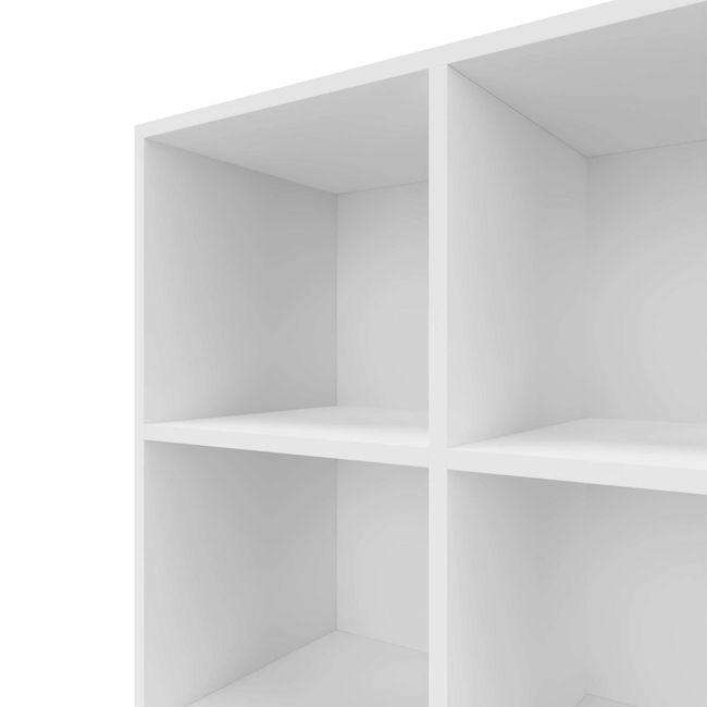 CHOICE Bücherregal | 6 OH, 800 x 2170 mm, Weiß