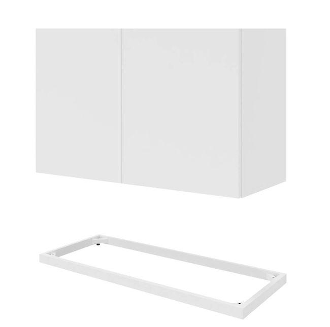 CHOICE Flügeltürenschrank | 5 OH, 1000 x 1820 mm, Weiß