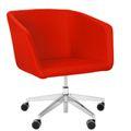 MEG Lounge-Sessel | Auf Rollen, Wollbezug VELITO