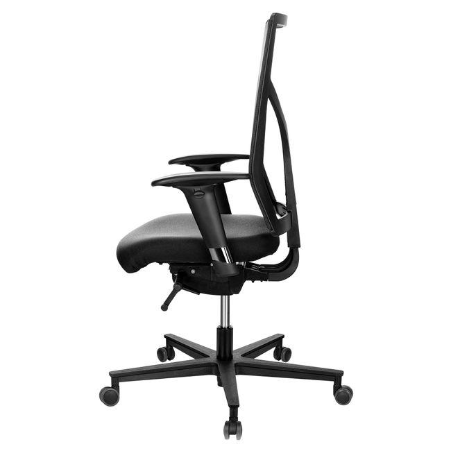 ROVO 1430 Bürodrehstuhl | Netzrücken, Schwarz
