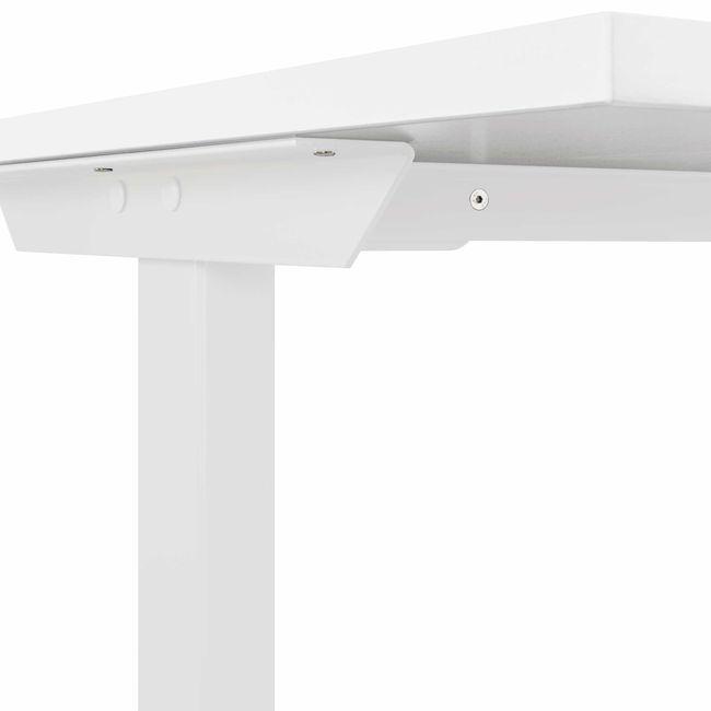 T-EASY Schreibtisch | 1200 x 800 mm, Elektrifizierung, Weiß