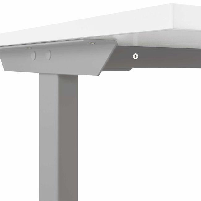 T-EASY Schreibtisch | 1200 x 800 mm, Elektrifizierung, Sandesche