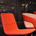 TWIST&SIT Besucher- und Konferenzstuhl   Kufengestell, Wollbezug SYNERGY