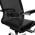 PALA Net Bürodrehstuhl | Lordosenstütze, Netzrücken, Schwarz