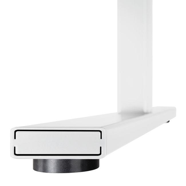 ONE H Schreibtisch | Manuell höhenverstellbar, 1400 x 800 mm, Nussbaum