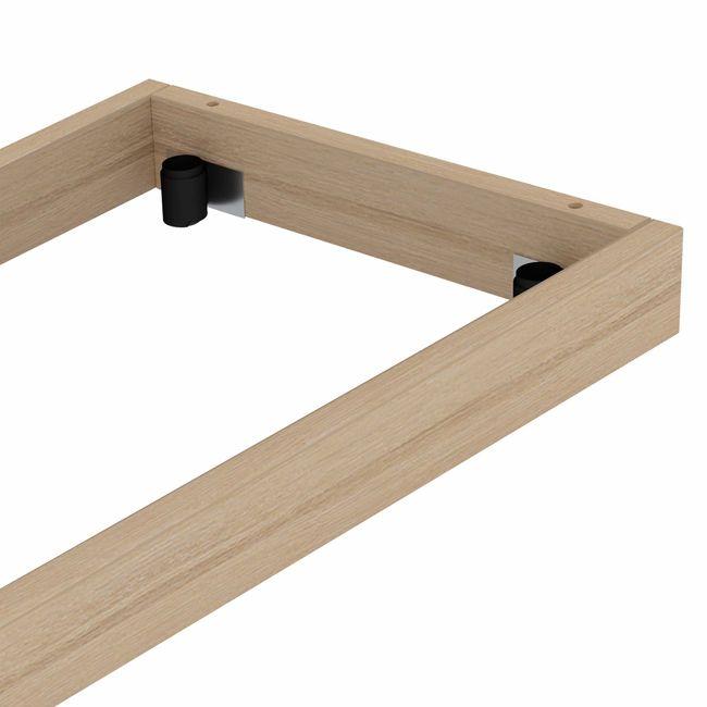 UNI Holzsockel | 1000 mm, Bernsteineiche