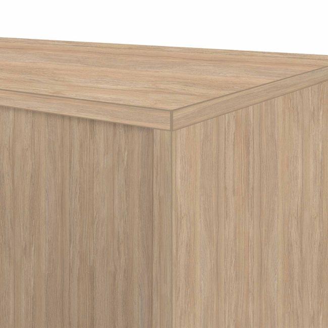UNI Querrollladenschrank | 3 OH, 1000 x 1143 mm, Bernsteineiche / Silbergrau
