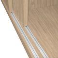 UNI Schiebetürenschrank | 3 OH, 1200 x 1143 mm, Bernsteineiche