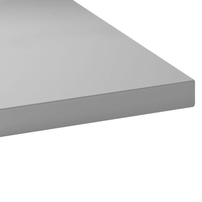 ONE H Schreibtisch | Manuell höhenverstellbar, 1600 x 700 mm, Perlgrau